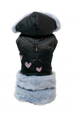 cappottino Violet nero lilla
